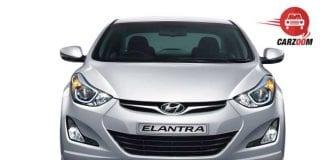 Refreshed Hyundai Elantra Exteriors Front View