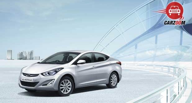 Refreshed Hyundai Elantra Exteriors Front and Side View