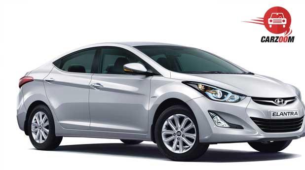 Refreshed Hyundai Elantra Exteriors Overall