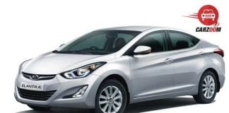 Refreshed Hyundai Elantra Exteriors Side View