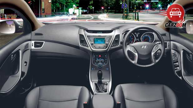 Refreshed Hyundai Elantra Interiors Dashboard