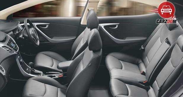 Refreshed Hyundai Elantra Interiors Seats View