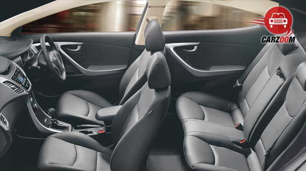 Refreshed Hyundai Elantra Interiors Seats View