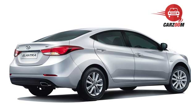 Refreshed Hyundai Elantra Side View