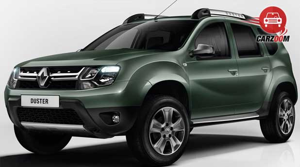 Renault Duster Front and Side view