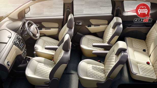 Renault Lodgy Interiors Seats View