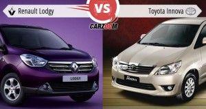 Renault Lodgy vs Toyota Innova