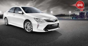 Toyota Camry Exteriors Side and Front View