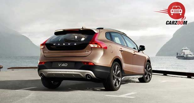 volvo v40 cross country Exteriors Back and Side View