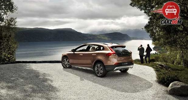 volvo v40 cross country Exteriors Side View