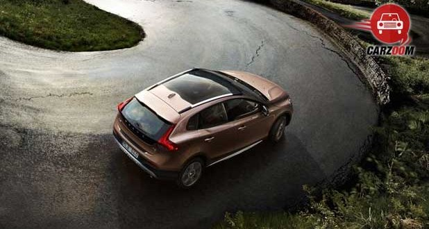 volvo v40 cross country Exteriors Top View