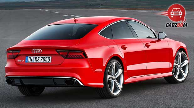 Audi RS 7 Sportback Exteriors Back View