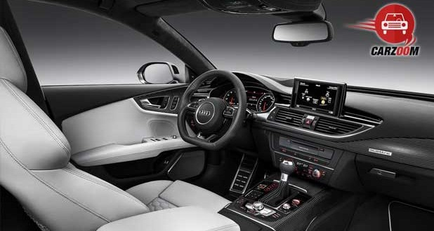 Audi RS 7 Sportback Interiors Dashboard and Seats View