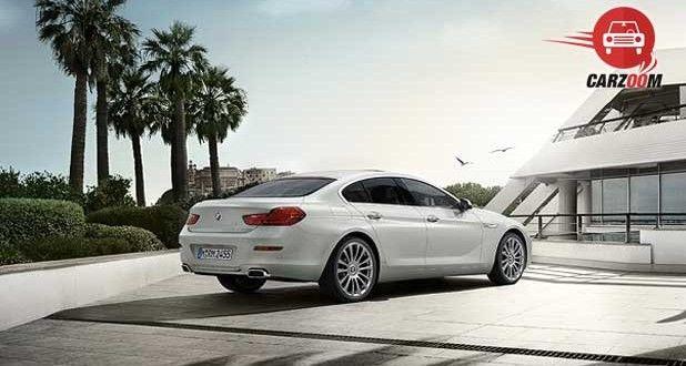 BMW 6 series Gran Coupe Exteriors back