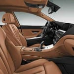 BMW 6 series Gran Coupe Interiors Seats View