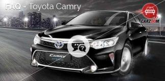 FAQ Toyota Camry