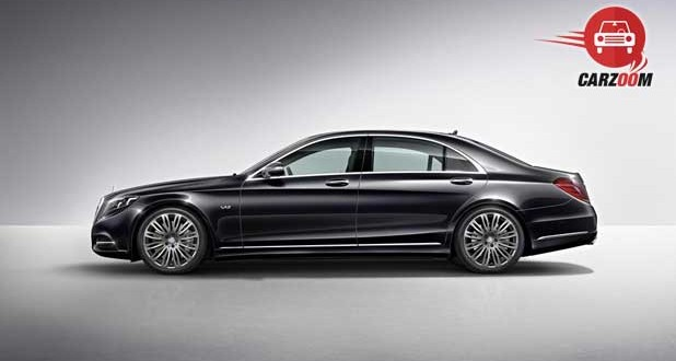 Mercedes Benz S 600 Guard Exteriors Side View
