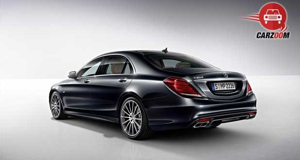 Mercedes Benz S 600 Guard Exteriors Side and Back View