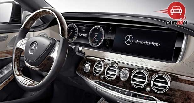 Mercedes Benz S 600 Guard Interiors Dashboard