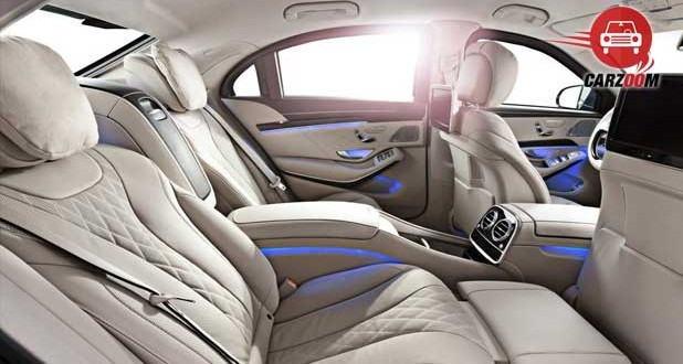 Mercedes Benz S 600 Guard Interiors Seats View
