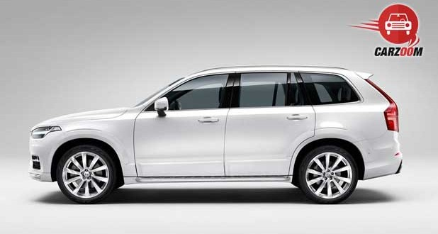 Volvo XC90 Exnteriors Side View Overall