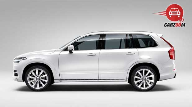 Volvo XC90 Exteriors Side View Overall