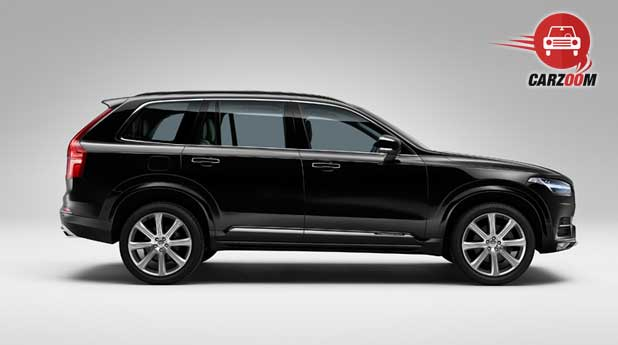 Volvo XC90 Exteriors Side View