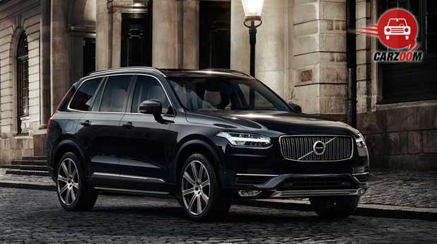 Volvo XC90 Exteriors Side and Front View