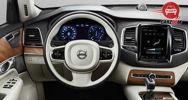 Volvo XC90 Interiors Dashboard