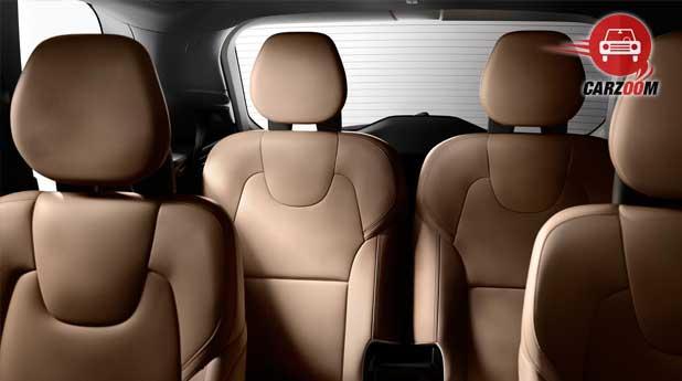 Volvo XC90 Interiors Seats View