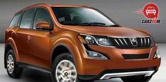 mahindra XUV 500 facelift