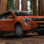 mahindra XUV500 Exteriors Side and Front View