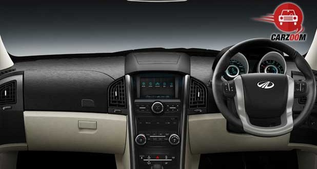 mahindra XUV500 Interiors Dashboard
