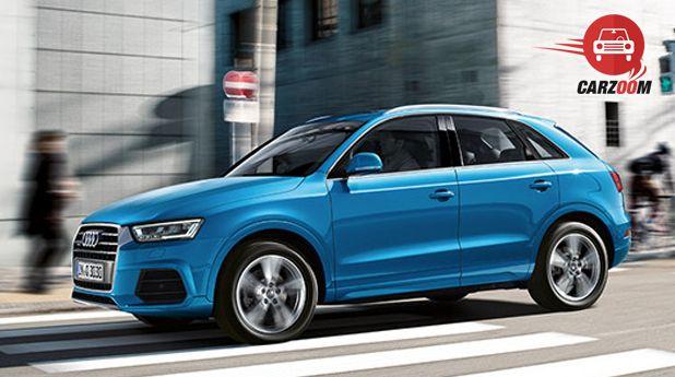 Audi Q3 Facelift Exterior Facelift View