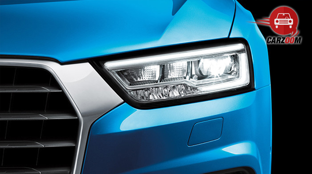 Audi Q3 Facelift Exteriors Headlight