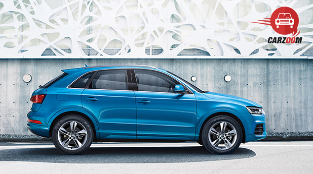 Audi Q3 Facelift Exteriors Side View