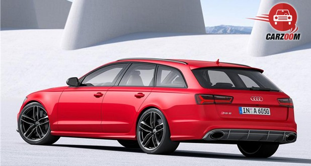 Audi RS 6 Avant Back View