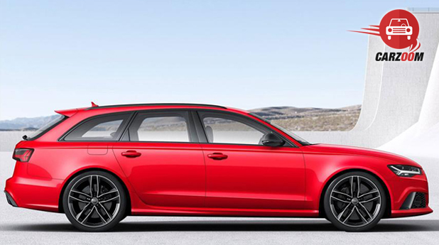 Audi RS 6 Avant Side View