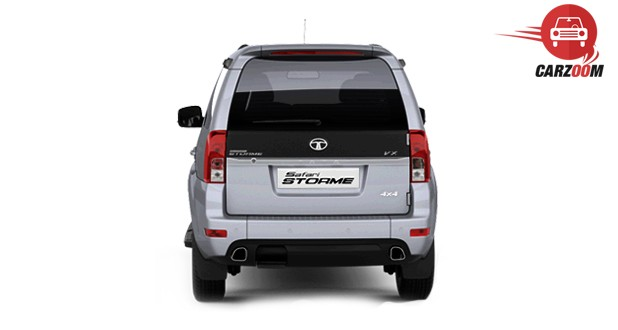Tata Safari Storme facelift - Back View