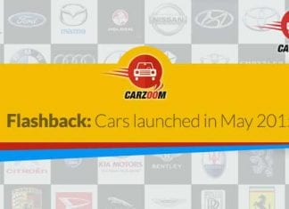 Flashback-Cars launched in May 2015