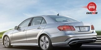 Mercedes Benz E Class Back view
