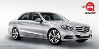 Mercedes Benz E Class Exteriors Side View