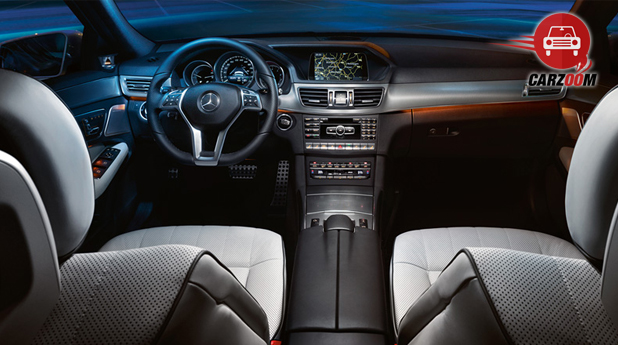 Mercedes Benz E Class Interiors Dashboard View