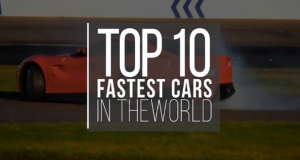 Top 10 Fastest Cars In The World