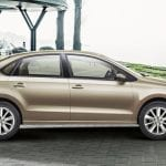 Volkswagen Vento Facelift Exteriors Side View