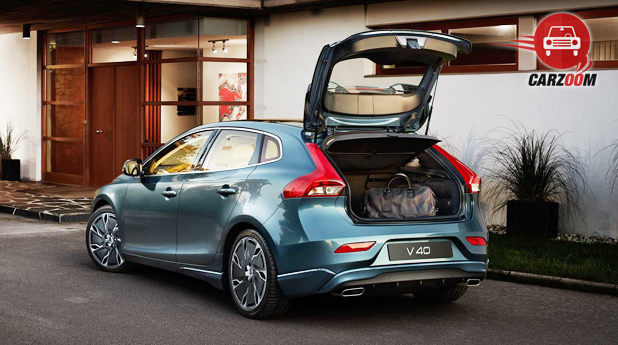 Volvo V40 Exteriors Back View