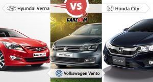 Volkswagen Vento vs New Hyundai 4S fluidic Verna vs Honda City