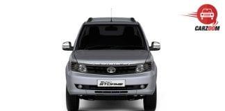 Tata Safari Storme facelift - Front View