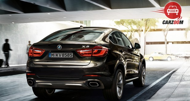 BMW X6 xDrive 40d M Sport Exterior Back View
