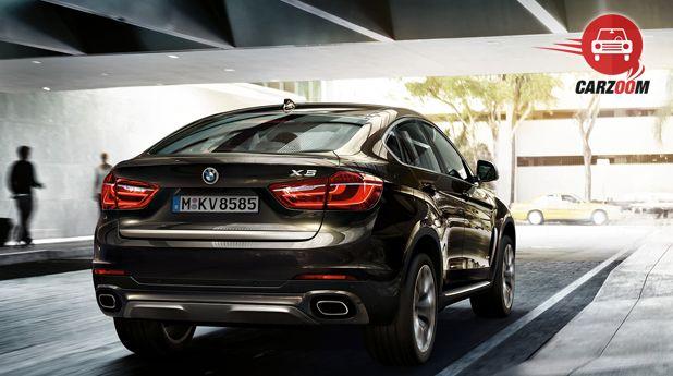 BMW X6 xDrive 40d M Sport Back View